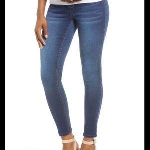 1822 denim maternity full panel skinny jeans M